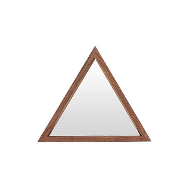 espejo triangular